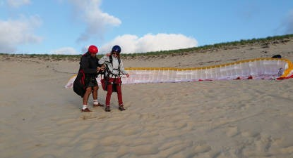 Vol en Parapente à la Dune du Pyla