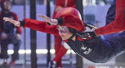 Simulateur de chute libre à Lyon
