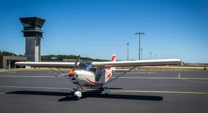 Pilotage d'un ULM près de Brive-la-Gaillarde