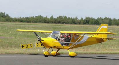 Initiation au pilotage d'avion léger près de Toulon