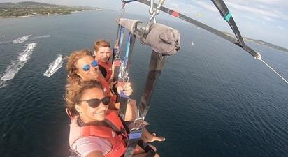 Parachute Ascensionnel à Saint-Tropez