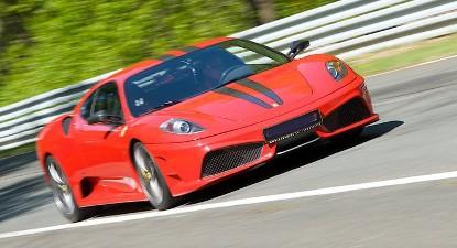 Pilotage d'une Ferrari F430 - Circuit des Ecuyers