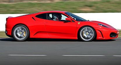 Pilotage d'une Ferrari F430 - Circuit de Saint-Laurent-de-Mure