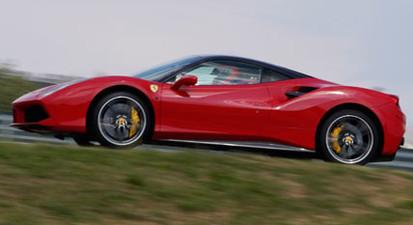 Pilotage d'une Ferrari 488 GTB - Circuit de Bresse