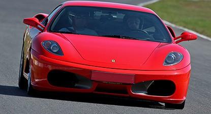 Pilotage d'une Ferrari F430 - Circuit de Bresse