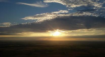 Vol en Montgolfière au dessus de la Touraine près de Tours
