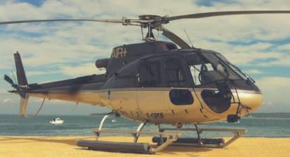 Baptême de l'air en hélicoptère près de Rodez