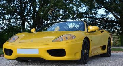 Conduite sur route Ferrari Modena Spider Albi