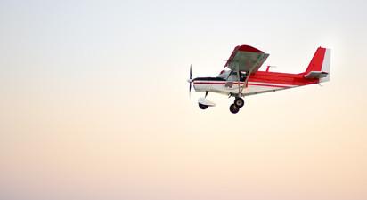 Initiation au pilotage d'avion léger près de Manosque