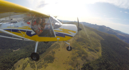 Initiation au pilotage d'avion ultra léger près de Saint-Flour dans le Cantal