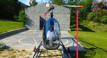 Vol en hélicoptère dans le Verdon