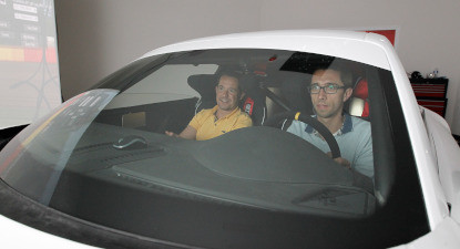 Simulateur de Pilotage de voitures de course à Saint Malo