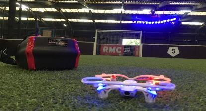 Pilotage de Drone en Indoor à Paris