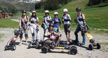 Initiation au mountainboard près de Grenoble