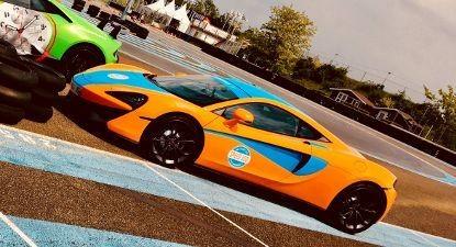 Stage de Pilotage en McLaren 540C - Circuit de l'Anneau du Rhin