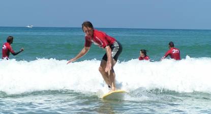 Cours de Surf à Biarritz