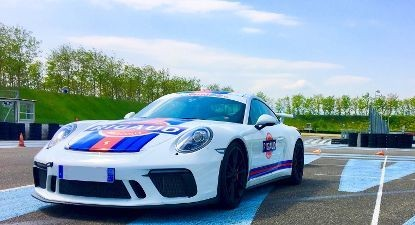 Baptême en Porsche 991 GT3 Phase 2 - Circuit de l'Anneau du Rhin