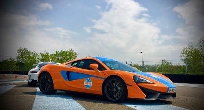 Baptême en McLaren 540C - Circuit de l'Anneau du Rhin