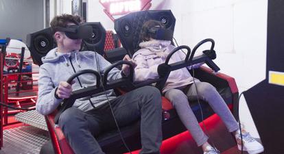 Film en réalité virtuelle près de Paris