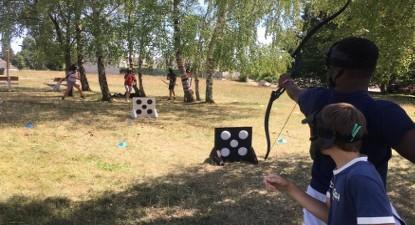 Partie privée d'Archery Game à domicile au Mans ou ses environs