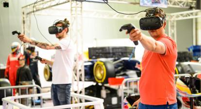 Jeux interactifs en réalité virtuelle près de Paris