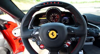 Stage de Pilotage sur Route en Ferrari F458 près de Mulhouse