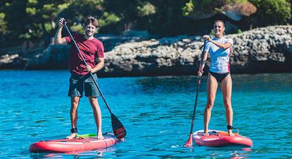 Stand Up paddle près de Nice