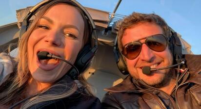 Baptême de l'air en avion léger en Seine et Marne