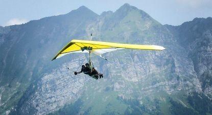 Vol en Deltaplane à Annecy - Découverte du Lac d'Annecy