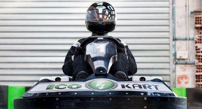 Session de pilotage sur Karting électrique à Saint-Lô