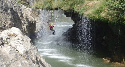 Descente en Canyoning à St-Guilhem le Désert