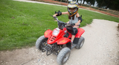 Pilotage électrique de Quad et Buggy pour enfants près d'Etretat