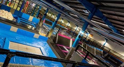 Session de Trampoline Park Indoor à Lyon