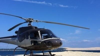 Survol en Hélicoptère du Bassin d'Arcachon