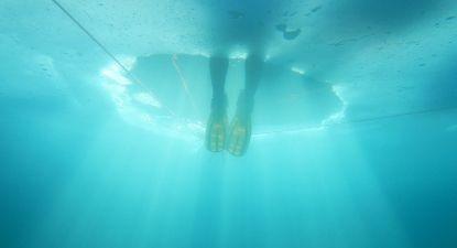 Baptême de plongée sous glace diurne ou nocturne à Val Cenis Vanoise