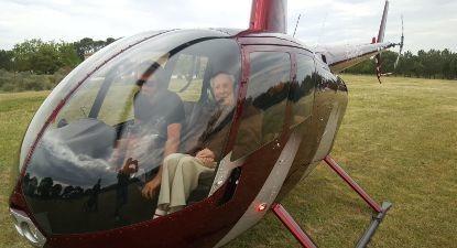 Baptême en Hélicoptère - Vol au-dessus du Tarn depuis Castres ou Gaillac