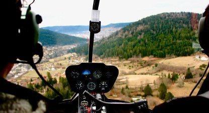 Baptême en hélicoptère à Nancy- Vol pour 2 au dessus des Vosges