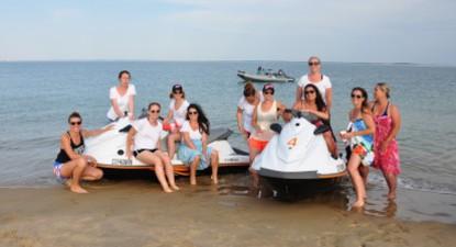 Randonnée en Jet-Ski sur l'Estuaire de la Gironde