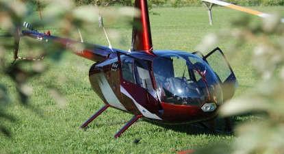 Baptême en Hélicoptère en Aveyron - Vol en hélicoptère à Millau