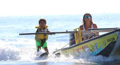 Session de Baby Ski depuis le port des Issambres