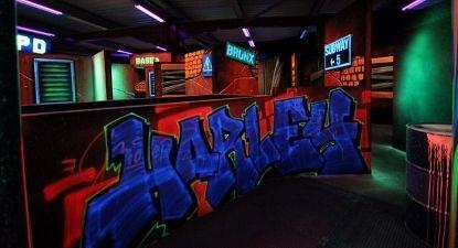 Partie de Laser Game indoor à Saintes près de Cognac