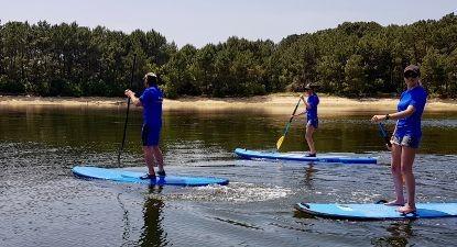 Cours de Paddle à Capbreton