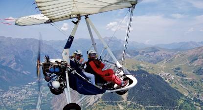 Baptême en ULM Pendulaire et Gyrocoptère - Vol à l'Alpe d'Huez