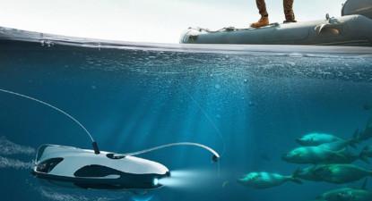 Initiation au Pilotage de Drone sous marin dans la Saône à Villefranche-sur-Saône