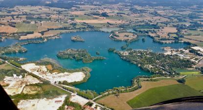 Baptême de l'air en ULM près de Bourg-en-Bresse
