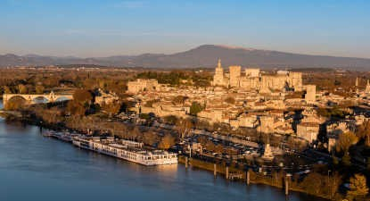 Vol en hélicoptère à Avignon