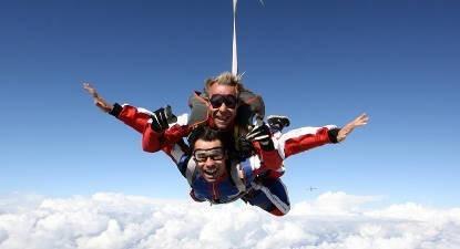Saut en Parachute Tandem en Lorraine