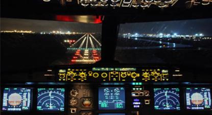 Simulateur de Pilotage d'un Airbus A320 à Clermont Ferrand