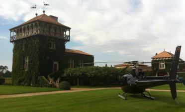 Vol en Hélicoptère à Arcachon à la découverte des vignobles Bordelais