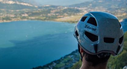 Via ferrata du Roc du Cornillon à Aix les Bains et Chambery